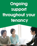 Ongoing support throughout your tenancy